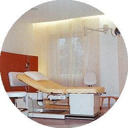 Neugeborenenabteilung und Kreißsaal