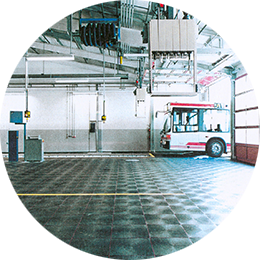 Bus-Betriebshof